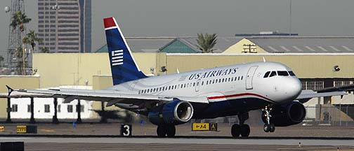 US Airways Airbus A319-132 N804AW, November 10, 2010