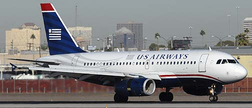 US Airways Airbus A319-132 N829AW, November 10, 2010