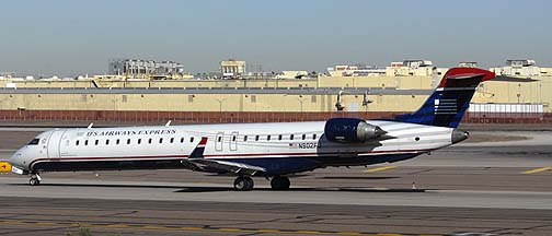US Airways Express CL600-2D24 N902FJ, November 10, 2010