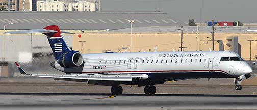US Airways Express CL600-2D24 N922FJ, November 10, 2010