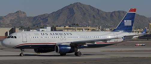 US Airways Airbus A320-231 N620AW, November 10, 2010
