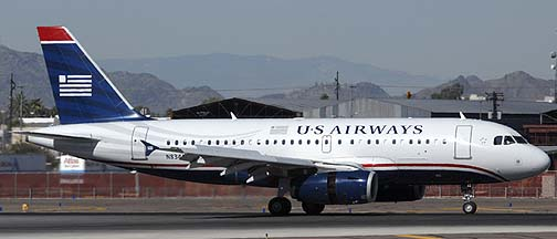 US Airways Airbus A319-132 N832AW, November 10, 2010