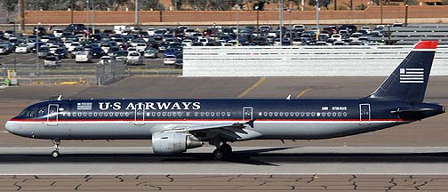 US Airways Airbus A321-211 N184US, November 10, 2010