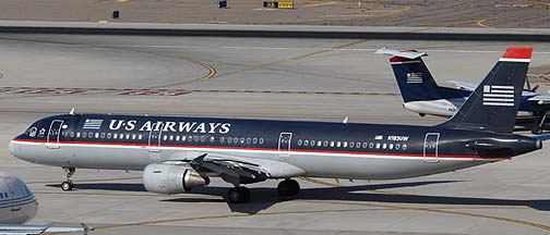 US Airways Airbus A321-211 N185UW, November 10, 2010