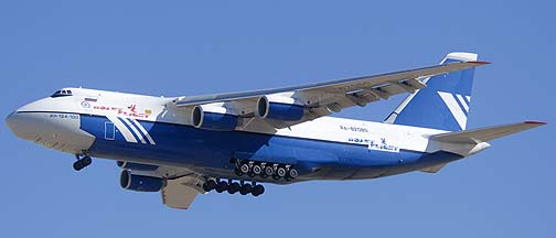 Polet Flight An-124 Ruslan, RA-82080, Phoenix-Mesa Gateway Airport, Arizona, Friday January 14, 2011