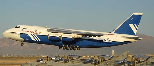 Polet Flight An-124 Ruslan, RA-82080, Phoenix-Mesa Gateway Airport, Arizona, Saturday January 15, 2011