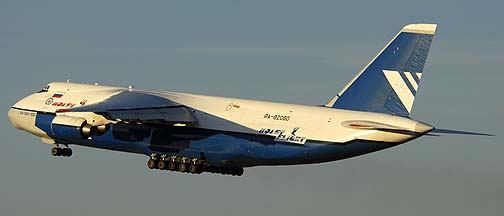 Polet Flight An-124 Ruslan, RA-82080, Phoenix-Mesa Gateway Airport, Arizona, Friday January 15, 2011