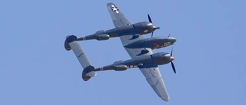 Lockheed P-38L Lightning NL38TF, 44-53095 Thoughts of Midnight
