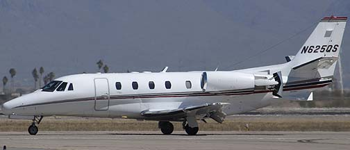 Cessna 560XL N625QS, Phoenix-Mesa Gateway Airport, March 11, 2011