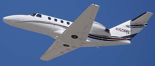 Cessna 525 G Citation CJ N525RL, Phoenix-Mesa Gateway Airport, March 11, 2011