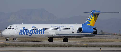 Allegiant Air McDonnell-Douglas MD-83 N429NV, Phoenix-Mesa Gateway Airport, March 11, 2011