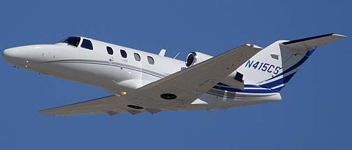Cessna 525 N415CS, Phoenix-Mesa Gateway Airport, March 11, 2011