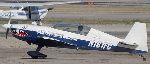 APS Emergency Maneuver Training Extra EA 300-L N161FC, Phoenix-Mesa Gateway Airport, March 11, 2011