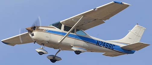 Cessna 182M N246BC, Phoenix-Mesa Gateway Airport, March 12, 2011