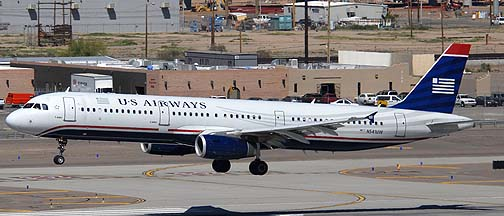 US Airways Airbus A321-231 N541UW, March 16, 2011
