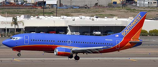 Southwest Boeing 737-3T0 N684WN, March 16, 2011