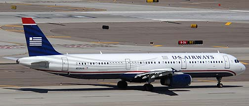 US Airways Airbus A321-231 N519UW, March 16, 2011