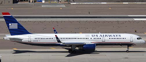 US Airways Boeing 757-2G7 N908AW, March 16, 2011