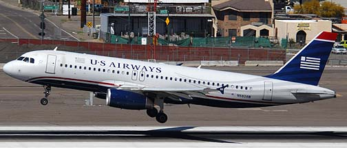 US Airways Airbus A320-232 N680AW, March 16, 2011