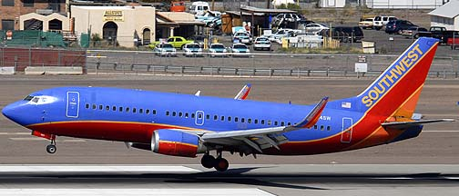Southwest Boeing 737-3H4 N624SW, March 16, 2011