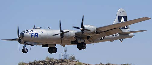 Boeing B-29 Superfortress N529B Fifi, Deer Valley, April 13, 2011