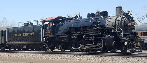 Grand Canyon Railway Steam Locomotive, May 8, 2010