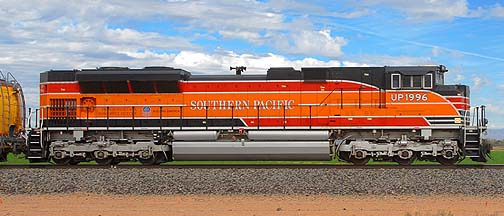 Southern Pacific 1996 SD70ACe Diesel, November 12, 2011