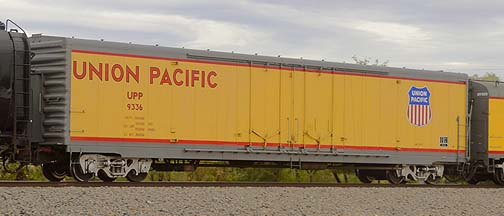 Union Pacific Box Car UPP 1336, November 12, 2011