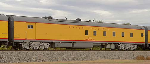 Union Pacific Power Car UPP 209 Howard Fogg, November 12, 2011