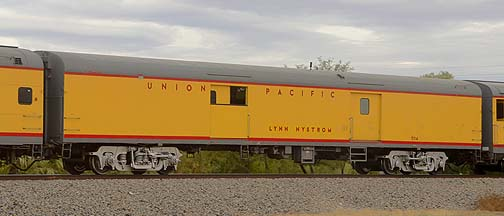 Union Pacific Baggage Car UPP 5714 Lynn Nystrom, November 12, 2011