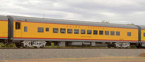 Union Pacific Coach UPP 5483 Texas Eagle, November 12, 2011