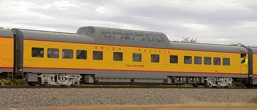 Union Pacific Dome Coach UPP 7015 Challenger, November 12, 2011
