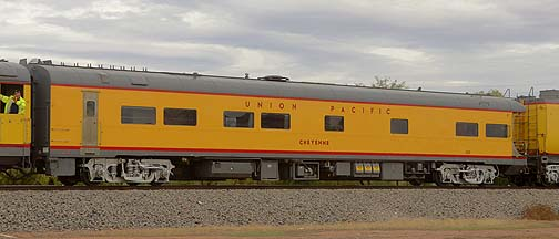 Union Pacific Business Car UPP 103 Cheyenne, November 12, 2011