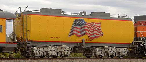 Union Pacific Water Tender UPP 809 Jim Adams, November 12, 2011