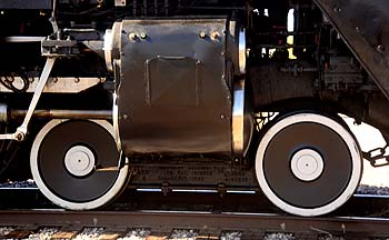 Union Pacific Steam Locomotive 844, November 15, 2011