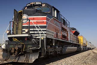 Southern Pacific 1996 SD70ACe Diesel, November 15, 2011