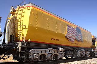 Union Pacific Water Tender UPP 809 Jim Adams, November 15, 2011