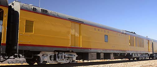 Union Pacific Power Car 208, November 15, 2011