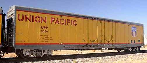Union Pacific Box Car UPP 1336, November 15, 2011
