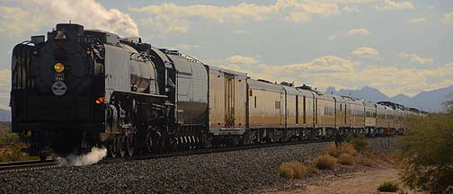 Grand Canyon State Steam Special, November 15, 2011