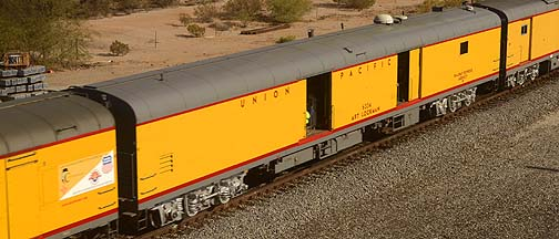 Union Pacific Tool Car UPP 6334 Art Lockman, November 15, 2011