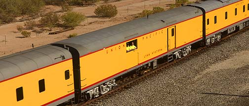 Union Pacific Baggage Car UPP 5714 Lynn Nystrom, November 15, 2011