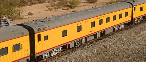 Union Pacific Sleeper UPP 200 Omaha, November 15, 2011
