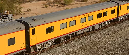 Union Pacific Deluxe Sleeper UPP 413 Lake Bluff , November 15, 2011