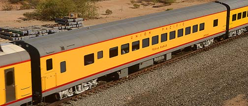Union Pacific Coach UPP 5483 Texas Eagle, November 15, 2011