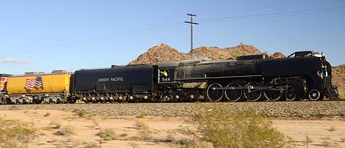 Union Pacific Steam Locomotive 844, November 12-15, 2011