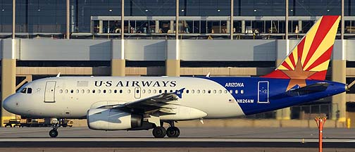 US Airways Airbus A319-132 N826AW Arizona, December 22, 2011