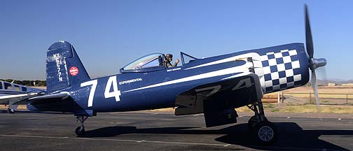 Goodyear F2G-2 Corsair N5577N Race 74, December 27, 2011