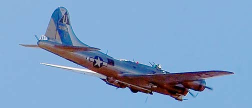 Boeing B-17G Flying Fortress, December 31, 2011