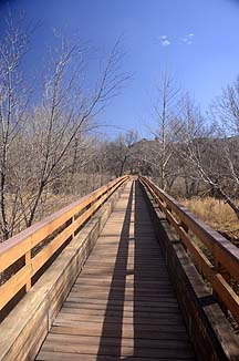 Kingfisher Bridge, Red Rock State Park, February 9, 2012